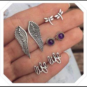 Jewelry - Life Earrings Sets